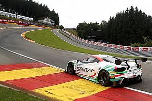 Blancpain Endurance Sıralama turları raporu Spa 24 Saat: Ferrari pilotu Calado, 0.057 sn fark ile pole pozisyonunda