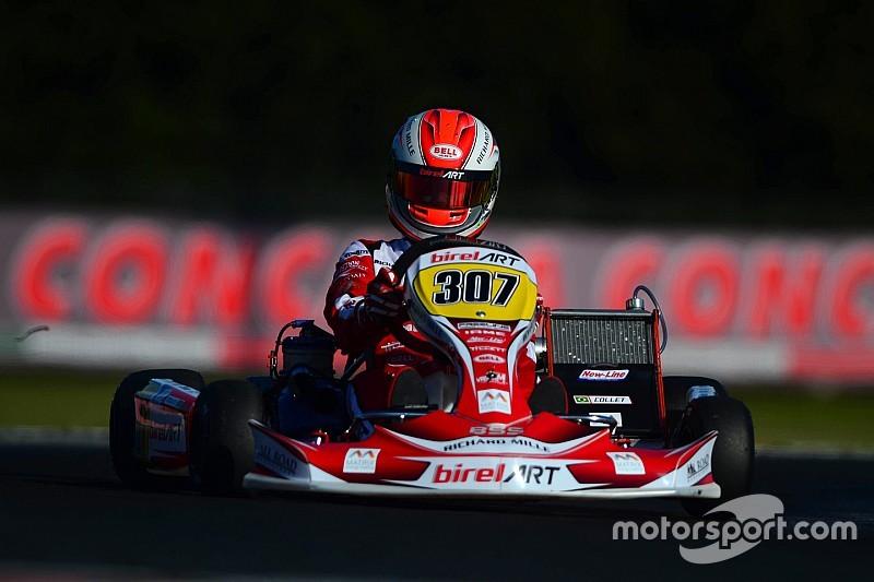 Pódio em 2015, Caio Collet disputa segundo Mundial de Kart