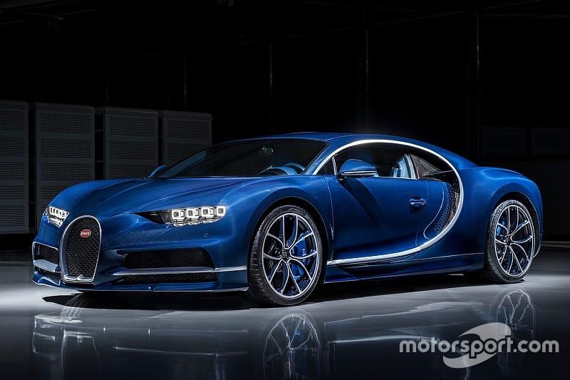Voici la Bugatti Chiron Bleu Royale
