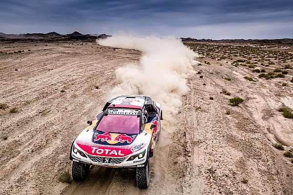 Silk Way Rally: 'Peter' and Kolomy first to the Great Wall