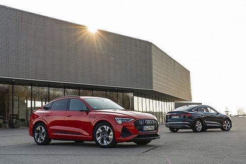 Mocne Audi e-tron S