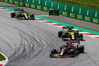 Renault better in dirty air than last year's car - Ricciardo