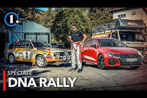 Nuova Audi RS 3, l'erede della quattro 40 anni dopo