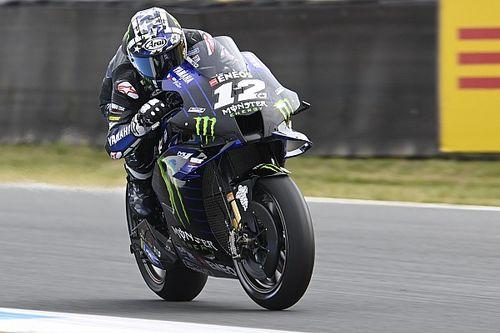 Assen MotoGP: Vinales tops rain-hit FP2, Marquez crashes