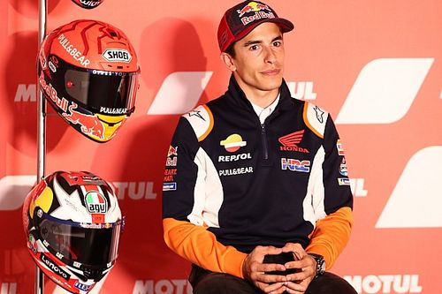 Márquez insatisfait du développement de la Honda en son absence