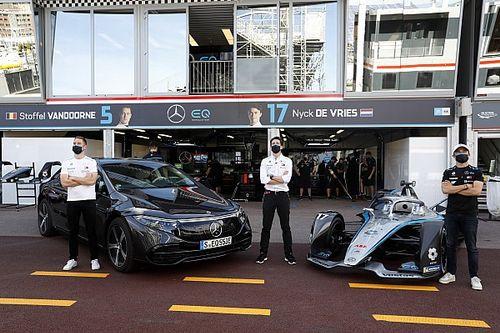 فورمولا إي: مرسيدس توقّع خيارًا لبدء تطوير سيارات الجيل الثالث قبل تأكيد التزامها
