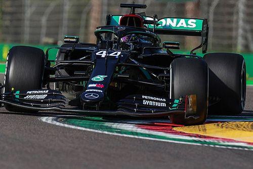 Hamilton óriási előnnyel nyerte a szabadedzést Imolában!