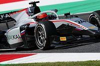 Mazepin vainqueur opportuniste, Schumacher leader