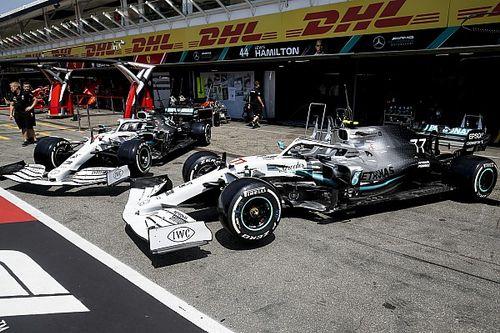Mercedes revela su decoración especial para el GP de Alemania