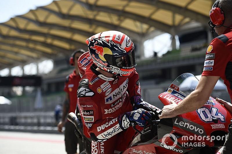 Ducati prova la simulazione di GP in coppia, Dovizioso: