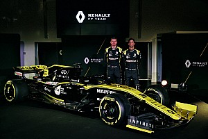Ricciardo makes Renault F1 debut as RS19 hits track