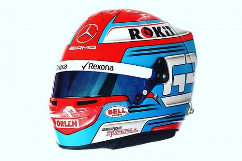 Photos - Le casque 2019 de George Russell