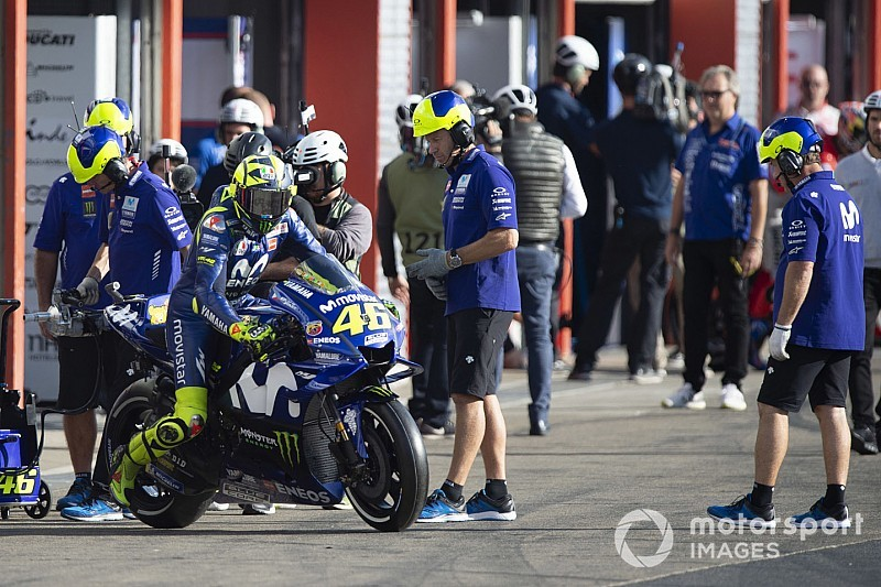 Rossi: É importante que chefes da Yamaha vejam como a moto está