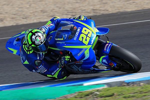 MotoGP Suzuki termine l'année avec un test intense et positif