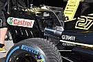 Renault: ala posteriore scarica e paratie con i soffiaggi McLaren