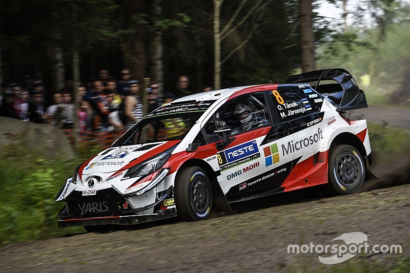 Finland WRC: Tanak pulls away as Latvala reels in Ostberg