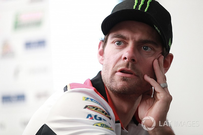 "Crutchlow expects Honda ""reward"" for current form"