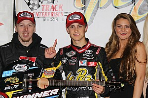 ARCA Breaking news Zane Smith takes maiden ARCA win after late-race pass for the lead