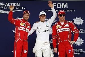 F1 Reporte de calificación La parrilla de salida del GP de Brasil de F1 con todas las sanciones