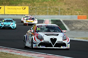 TCR Race report Difficult round for Romeo Ferraris in Budapest