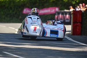 Road racing Breaking news Birchall brothers top Isle of Man TT sidecar entry