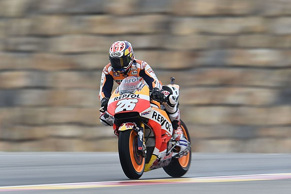 MotoGP Relato do treino livre Pedrosa lidera dia em Aragón; Rossi retorna e fica em 20º