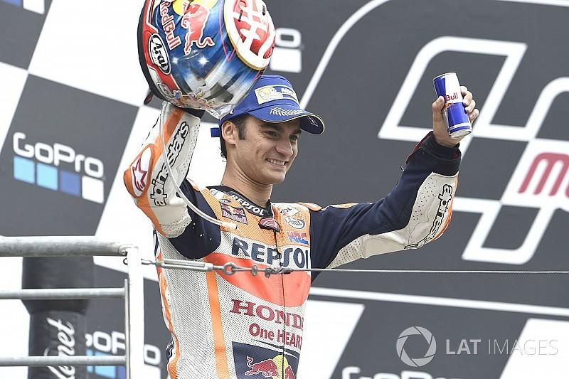 Sempat bermasalah dengan ban, Pedrosa senang podium ketiga