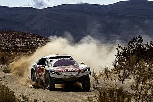 Dakar Breaking news Peugeot rules out imposing Dakar team orders
