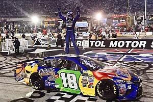 NASCAR Cup Rennbericht NASCAR 2017 in Bristol: Kyle Busch schafft den Hattrick