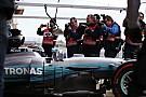Rosberg azonnal gratulált Bottasnak a pole-hoz!