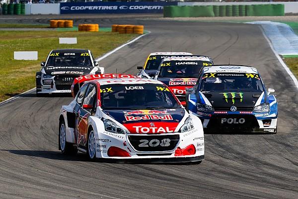 World Rallycross Hockenheim WRX: Loeb leads on opening day