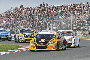 BTCC Breaking news Honda boss calls for smaller BTCC grids and licence system
