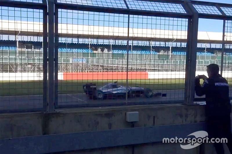 El nuevo Mercedes salió a la pista en Silverstone