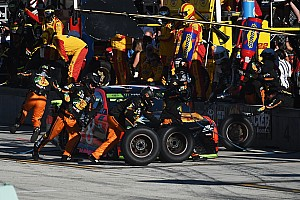 NASCAR Cup Breaking news NASCAR to limit crew rosters in 2018