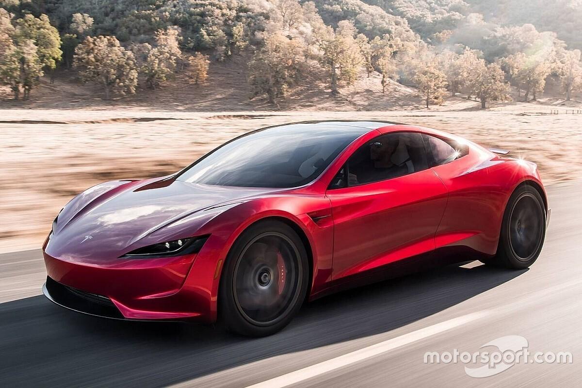 Tesla Roadster нового покоління знову «засвітився»