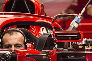 Formel 1 Fotostrecke Bildergalerie: Der neue Halo-Rückspiegel von Ferrari