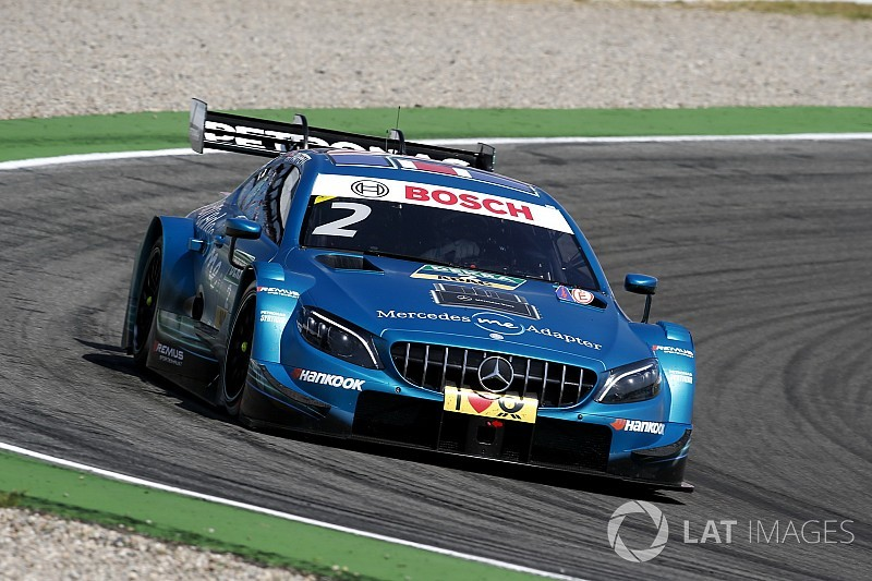 Mercedes form makes DTM exit frustrating - Paffett