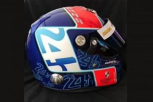 24 heures du Mans Diaporama Photos - Le casque spécial de Jan Lammers pour Le Mans
