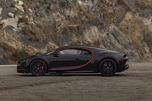 Un exclusivo Bugatti Chiron, a subasta