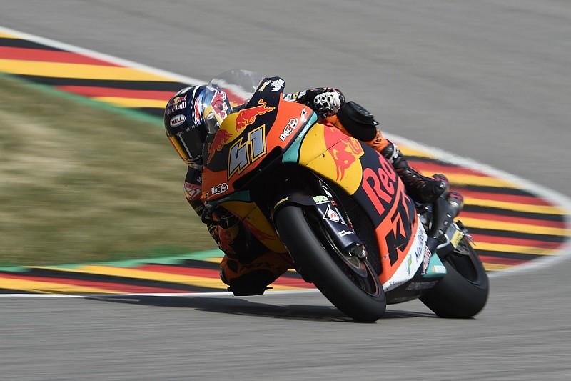 Moto2 Jerman: Binder menang perdana, Marini podium