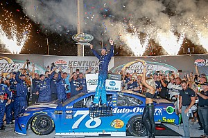 NASCAR Cup Race report Martin Truex Jr. cruises to repeat victory at Kentucky Speedway