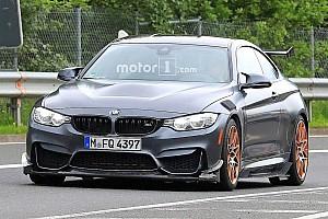 Automotive Breaking news BMW M4 GTS spied testing with extreme aero kit