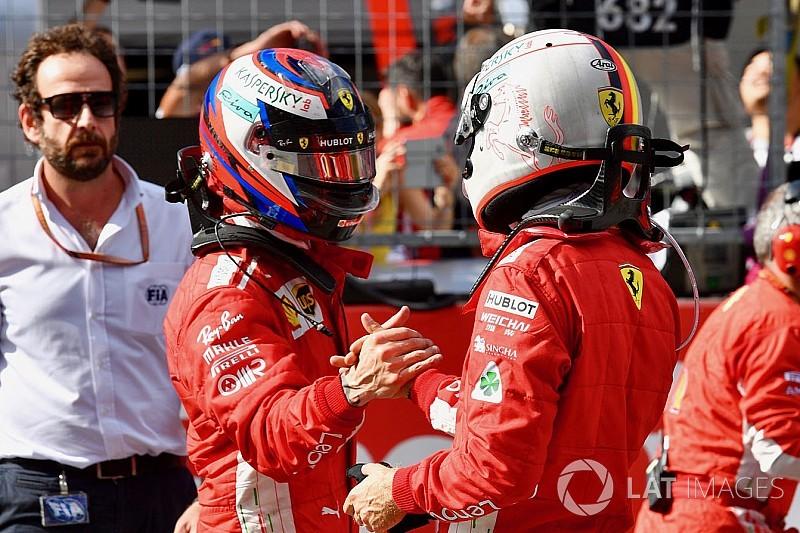 Las órdenes de equipo en Ferrari habrían sido