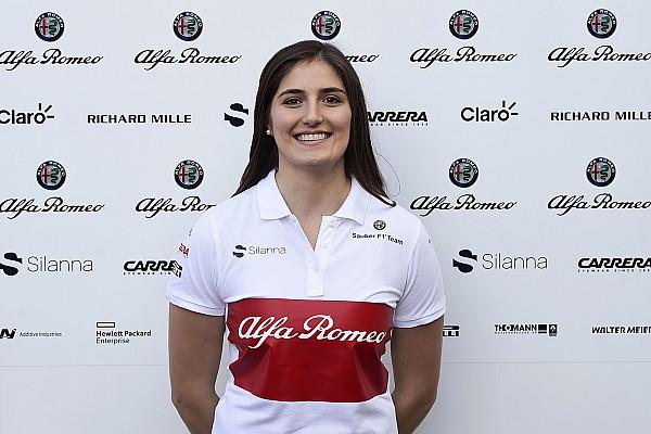 Sauber schließt F1-Freitagstests 2018 für Tatiana Calderon aus