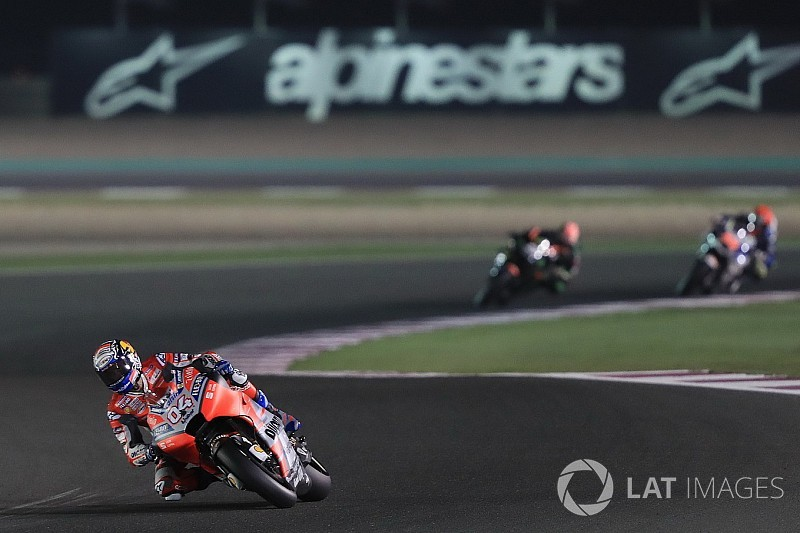 Dovizioso bestätigt starke Form, Lorenzo sieht viel Luft nach oben