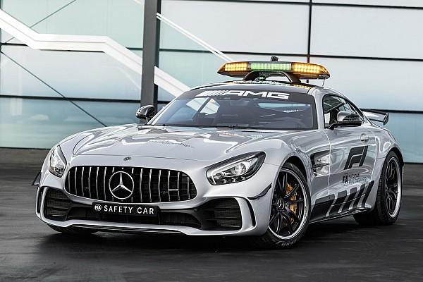 Formel 1 Fotostrecke Bildergalerie: Das neue Safety-Car der Formel 1 2018