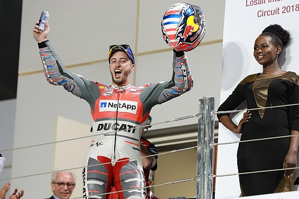 """MotoGP Declaraciones Dovizioso: """"Márquez debió de hacer algo irreal para aguantar hasta el final"""""""