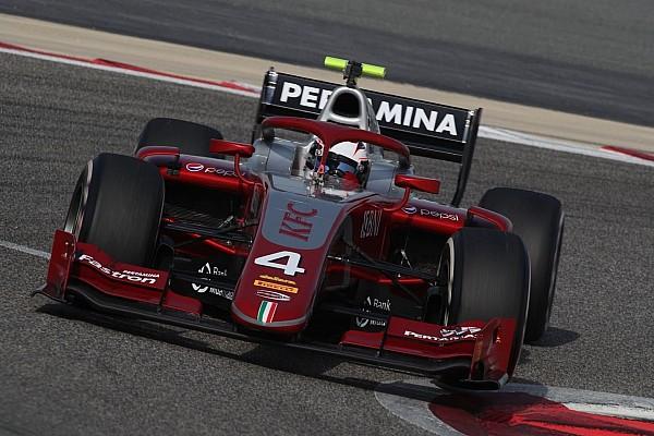 FIA Fórmula 2 Crónica de test De Vries lidera el primer día de pruebas de la F2 en Bahrein