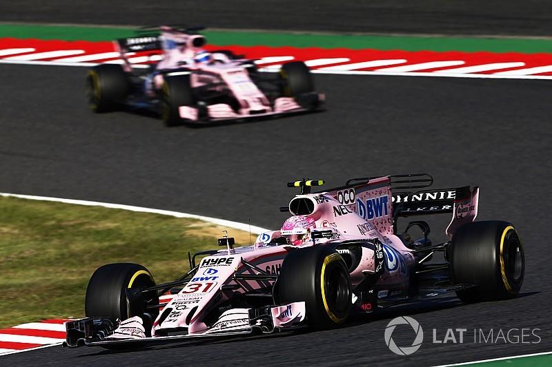 Force India: ritmo de corrida de Ocon ainda precisa melhorar