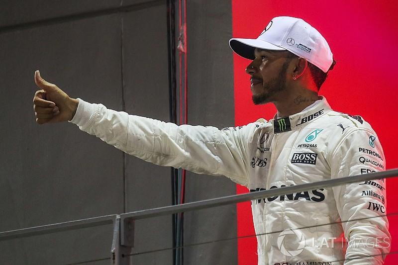 """Hamilton: """"Nem célom az, hogy beérjem Schumacher 7 világbajnoki címét"""""""